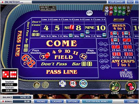 best online craps casino american poker online